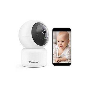 Cameras Luowice IP Camera WiFi Wireless Security 1080P Indoor Dome Pet Baby Monitor Pan Tilt 2MP HD Night Vision CCTV Surveillanc