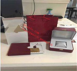 Fournisseur Fournisseur Fournisseur Original Boîtes Rouge Prix à bas prix Montres Hommes Étui intérieur extérieur pour Ballon Bleu Calibre de Femmes Watch Box