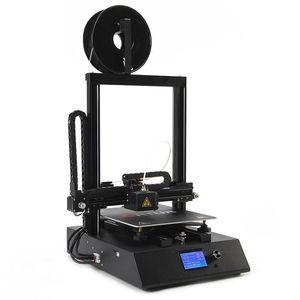 Принтеры ORTUR 4 3D Комплект принтера с двумя осью линейной направляющей рельсовой опоры Авто-выравнивающееся нить накаливание. Обнаружение резюме Печать
