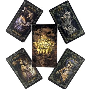 England Tarot Deck Leisure Party Table Game High Quality Fortune-telling Prophecy Oracles Cards With Guide Book