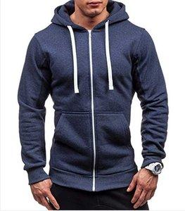 MRMT 2021 Marka Yeni Erkek Hoodies Tişörtü Fermuar Kapşonlu Ceket Erkekler Pamuk Kazak Kapüşonlu Hoodie Kazak Erkek X0601 Için