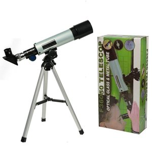 Astronomical telescope with portable tripod monocular zoom to observe moon, stars and birds, suitable popular science gifts for children