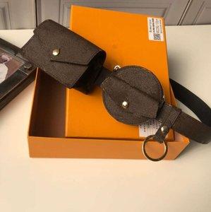 Designer Fashion Bags Letter Flowers Waist Belt Women Handbag Lady Purse Crossbod