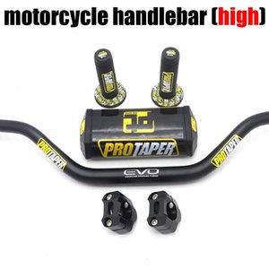 "Ручки руля для Pro Taper Pack Bar 1-1 / 8 ""Ручка PADS Graps Pit Racing Dirt Bike Мотоцикл CNC 28 мм Высокий"