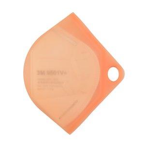 Holder Masks Portable Case Face Food-grade Box Silicone Container Mask Mask Storage Box Organizer Folder Bag Protective Organize 117 J2