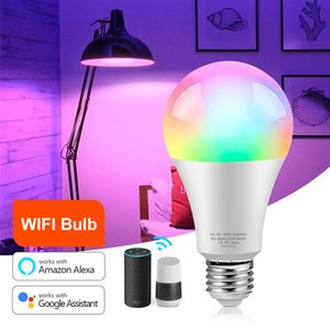 Smart Wi-Fi Led Light Bulb Compatible with Alexa, Google Assistant, 16 Million RGBCW Color Changing Dimmable Light Bulb In Stock