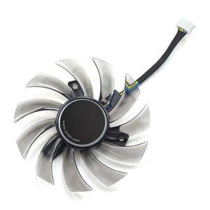 Охлаждающие колодки для ноутбуков 2021 75 мм GA81S2U DC 12V 0.35A 4Pin Cooler Fan 40x40x40mm для ZOTAC GTX 970 графические видеокарты вентиляторы