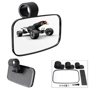 2021 NEW Sale High Quality 1.5 1.75 2 Inch Black Rear Mirror For ATV UTV Offroad