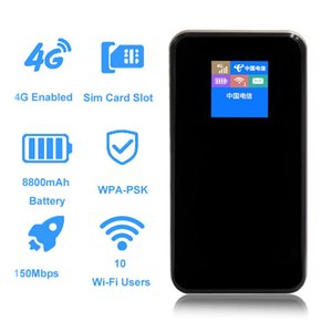 Portable original universal 300Mbps CAT4 4G mini WiFi router as a very good value-for-money power bank