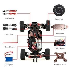Wltoys Xks 144001 RC سيارة 60KM / ساعة عالية السرعة 1/14 2.4 جيجا هرتز RC 4WD سباق الطرق الوعرة الانجراف سيارة RTR-1500AMH