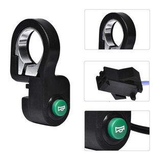 Bike Horns Electric Bicycle Horn Motorcycle Switch Button Scooter Waterproof Plastic Signal Accessories