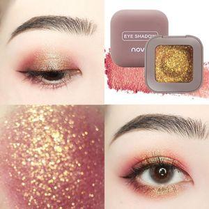 Eye Shadow Single Glitter Eyeshadow Highlight Cream Pigment Makeup Palette Maquillage