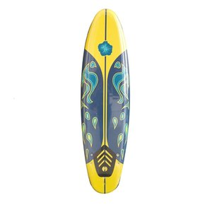 Feiduo large XPE surfboard reinforced thickened multicolor water ski
