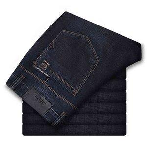 186-200 cm de altura hombres 120 cm de largo otoño otoño invierno pantalones vaqueros delgados versión masculino estiramiento coreano alta cintura l36 l34 jeans masculino 210518