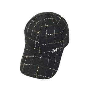 Fashion luxury designer adjustable England stripped casual baseball ball caps for women men travel sun hats