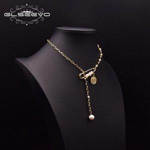 PendigsgSeglyeevo Natural Collar Coreano Pearl Colgante Personalidad femenina