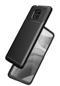 Cajas de teléfono celular de fibra de carbono de silicona para Moto Edge S G100 G30 G10 G10Power E7POWER GPLAY G POWER 2021 Funda de TPU suave antideslizante