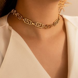 Gold women Necklace wholesale high quality fashion necklaces