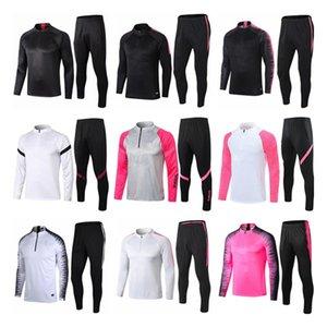 2021 взрослый куртка Kit Футбольный трексуит набор Paris Schoolsuits MBAPPE LUCAS Главная футбольный костюм