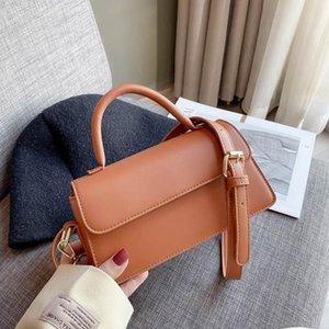 BLAP сумочка женская сумка дизайн кожаных мешков на плечо квадрат Satchle кошельки женское верхняя ручка французский стиль