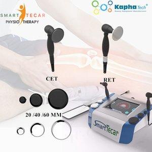 Tragbare HF-Diathermie-Tecar-PhysiotherPay-Maschine für Plantar-Fasziitis-Radiofrequenz körperliche Tliedmachie, um Schmerzlinderung zu behandeln