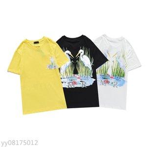 Summer Mens Mujeres Diseñadores Camisetas Camisetas sueltas Moda Marcas Tops Hombre Casual Camisa Lujos Ropa Calle Shorts de la calle Ropa de manga Tshirts 03395