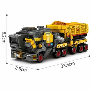 The Wandering Earth Cargo Truck Carrier Decoration Action Figures Educational Children DIY Ornaments Birthday Toys