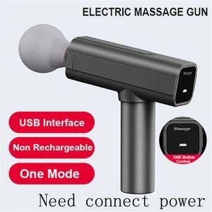 Mini Portable Fascial gun Massage Gun Muscle Massager Head Back Neck Leg Body Sports Massage Analgesic Relaxation Body Soothing