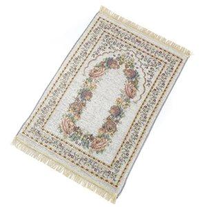 70*110cm thin Islamic Muslim Prayer Mat carpet Salat Musallah Rug Tapis Carpets Tapete Banheiro IslamicPraying Mats sea shipping GWB8971