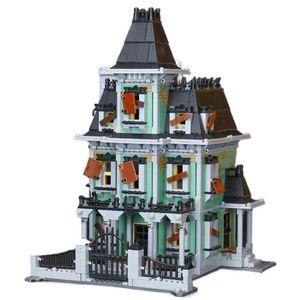 Новый 16007 2141 Шт. Монстр истребитель с привидениями дома для дома, совместимые с 10228 x0503