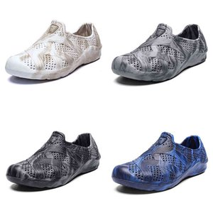 men water shoes summer beach shoe classic light grey fashion home outdoor soft work sneaker mens breathable sports trainer
