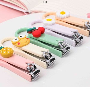 Cartoon children's nail scissors, portable children's nail repair tools.