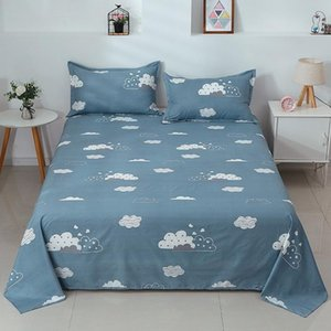 Sheets & Sets Cotton Printed Bed Set Soft Skin-friendly Double Queen Size Sheet Comfortable Adult Bedsheet Case