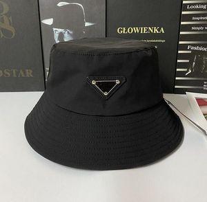8 Renkler Üçgen Mektup Şapka Kadınlar Için Yeni Kova Şapka Moda Klasik Tasarımcı Kadın Naylon Şapka Sonbahar Bahar Balıkçı Şapka Sun Caps Bırak Gemi