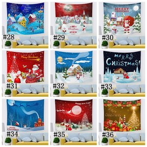 40 Designs Blanket Hallowmas Thanksgiving Day Christmas Blanket Festive tapestries for adults and children Wall Hanging Mats GGA4328