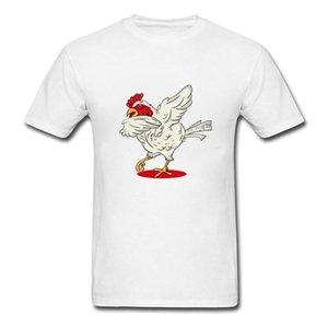 Herren T-shirts T-Shirts T-Shirts T-Shirt DAB Dance Hühner Lustige Landwirtschaft Geflügel T-shirts Geschenke für Landwirte Liebhaber Männer T-Shirts Baumwolle