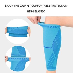 Men's Socks 1 Pc Breathable Leg Sleeve Pressure Sleeves Professional Unisex Soft Calf Compression Sports Safety Support