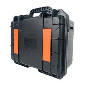 Легко перевозящие черные пластиковые инструменты Чехол с полными организаторами инструмента пены Cube