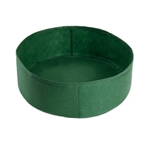 Planters & Pots Planting Bag Garden Bed Round Container Grow Bags Breathable Felt Fabric Planter Pot For Plants Nursery