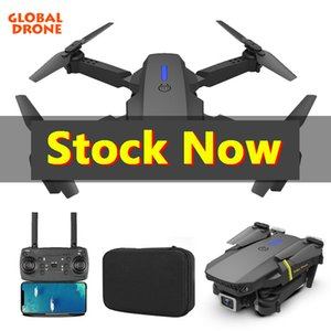 Global Drone 4K Camera Mini vehicle with Wifi Fpv Foldable Professional RC Helicopter Selfie Drones Toys For Kid Battery GD89-1