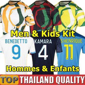 20 21 om أفريقيا لكرة القدم الفانيلة 2021 ميليك المطبخ بينيديتو لكرة القدم قميص مجموعة كامارا ثيوفين بايتيت مايلوت الرجال الاطفال عدة موحدة