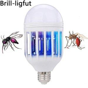 LED Bulb E27 15W 1000LM 6500K Anti-Mosquito Lamp Insect Zapper Flying Moths Killer Light Lamp 110V 220V Anti-Mosquito Repeller