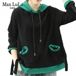 Casual Ladies Oversized Womens Korean Fashion Winter Lulu Style Punk Sweatshirts Clothes Vintage Max 2021 Hoodies Hooded Loose Eixsu Sefoc