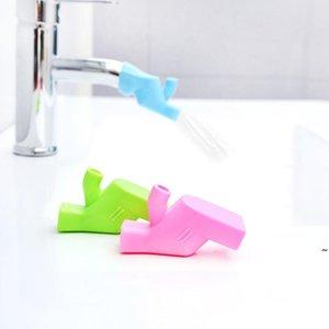 Rubinetto Extender Bagno Bagno Baby Lavaggio a mano Extender Silicone Sink Extendatori Viaggio Portatile Busta colto Bustina Bambini Bambini Lavaggio a mano Helper OWC6978