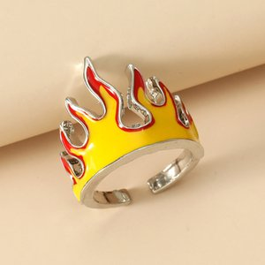 Opening Rings for Women Metal Charms Vintage Punk Friendship Rings