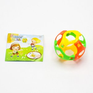 Novelty Colorful One Piece Together Assemble Ball Building Blocks Football Intelligence Toys For Kid Gift