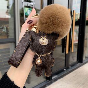 LL2020 Fashion brand Dog Keychain classic chic Keyring Women men luxury Car pendant unisex designer Key Chain Trinket Jewelry,