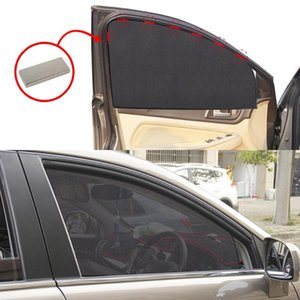 Car Sunshade Universal Magnetic Mesh Curtain Breathable And Anti-Direct Window Cover Sun Shade Protection