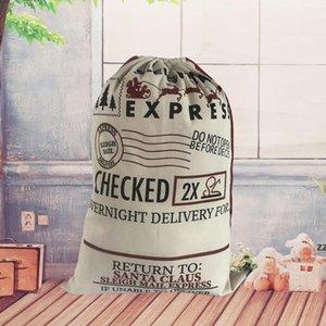 Gift Wrap Christmas Sacks Drawstring Bag Reusable Extra Large Xmas Santa Stocking Sack SEAWAY HWF10342
