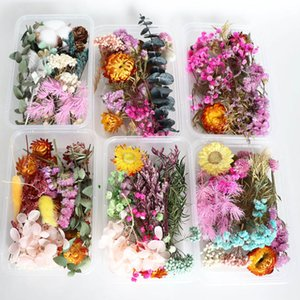 1 Box Real Dried Flower Dry Plants For Aromatherapy Candle Resin Pendant Necklace Jewelry Making Craft DIY Accessories HH21-165
